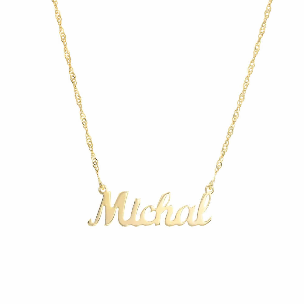 gold name necklace handmade necklaces handstamped jewellery jewelry img
